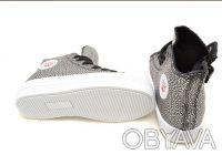 Шикарные ботиночки от ТМ B&G. Черные с серебряными каплями.  Выполнены из качест. Сумы, Сумская область. фото 5