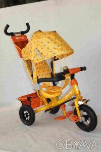 Велосипед трехколесный AZIMUT PROFI-TRIKE LEXUS AIR BC17-B на резиновых колёсах. Киев. фото 1