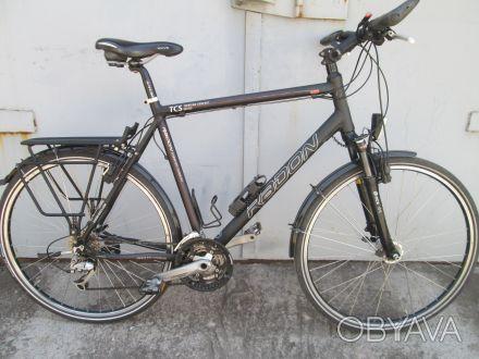 Велосипед RADON TCS на DEORE LX и гидравлике MAGURA         Рама алюминиевая 60. Кривой Рог, Днепропетровская область. фото 1