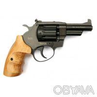 Вороненый револьвер с буковой рукоятью Safari РФ-431М предназначен для спортивно. Запорожье, Запорожская область. фото 3