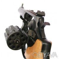 Вороненый револьвер с буковой рукоятью Safari РФ-431М предназначен для спортивно. Запорожье, Запорожская область. фото 4