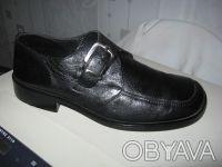 р40.Мужские кожаные туфли Barracuda,Италия,привезены моряком. Киев. фото 1