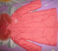 Продам пальто зимнее KIKO, на девочку р 128. Харьков. фото 1