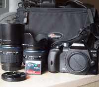Продам б\у зеркальную фотокамеру Olympus E-510 kit. Киев. фото 1