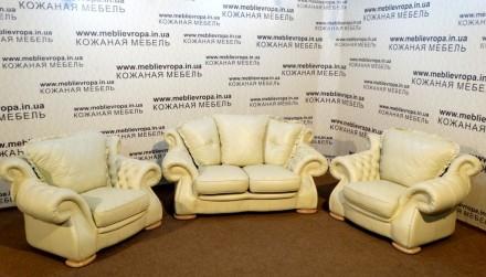 Продам Б/У кожаную мебель с Германии. Конотоп. фото 1
