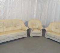 Продам Б/У кожаную мебель с Германии. Кременчуг. фото 1