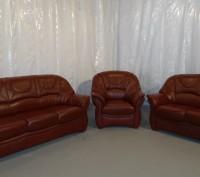 Продам Б/У кожаную мебель с Германии. Южный. фото 1