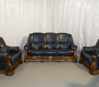Продам Б/У кожаную мебель с Германии. Мукачево. фото 1