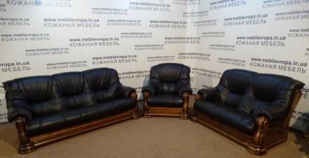 Продам Б/У кожаную мебель с Германии. Сумы. фото 1