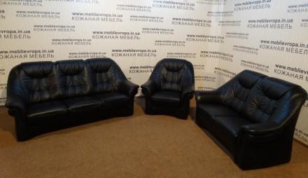 Продам Б/У кожаную мебель с Германии. Черкассы. фото 1
