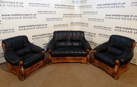 Продам Б/У кожаную мебель с Германии. Борисполь. фото 1