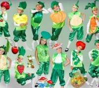 Детские карнавальные костюмы только новые от 170грн(гномики)от 195грн(овощи,фрук. Киев, Киевская область. фото 7
