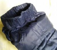 Тёплое нейлоновое пальтишко на синтепоне, простеганое, внутри рукава манжеты на . Харьков, Харьковская область. фото 6
