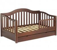 Кровать односпальная деревянная / К1-12. Чернигов. фото 1