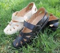 Туфли-мокасины чёрные и бежевые 36-42рр.. Торецк (Дзержинск). фото 1