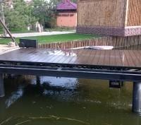 Подъёмник для катера (яхты, гидроцикла). Киев. фото 1
