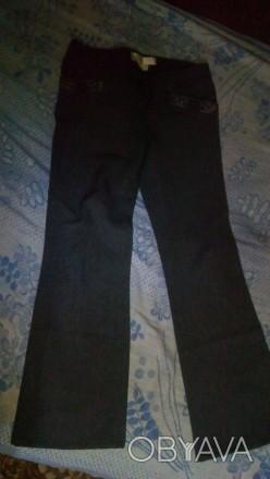 Штанишки серого цвета в хорошем состоянии впереди и сзади карманы примерно 42 ра. Днепр, Днепропетровская область. фото 1