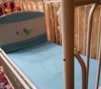 Кроватка  трансформеры голубого цвета разлаживается до 7-9лет,балдахин высокий,в. Павлоград, Днепропетровская область. фото 3