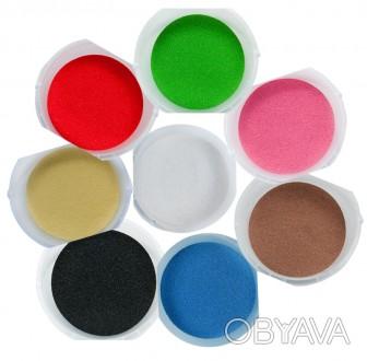 Цветной кварцевый песок от украинского производителя!  Яркий и выразительный, . Бровары, Киевская область. фото 1