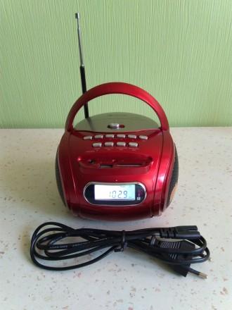 Портативная колонка,цифровой радиоприёмник,MP3 плеер бумбокс GOLON RX-686Q. Чернигов. фото 1