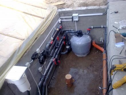 Монтаж и ремонт бассейнового оборудования.. Киев. фото 1