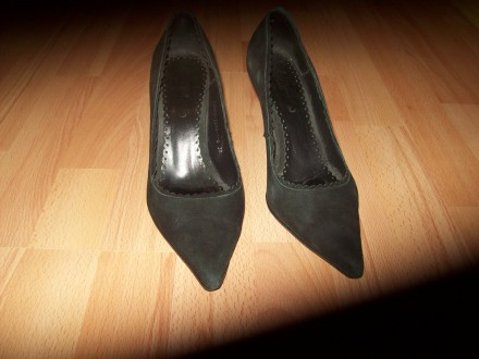 Туфли 38 р., FABLAND (Турция), натуральная замша, оригинал . Туфли в хорошем со. Днепр, Днепропетровская область. фото 3