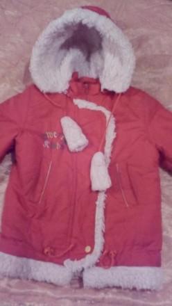 Зимний комплект: курточка + комбинезон на 3-5 лет. Харьков. фото 1