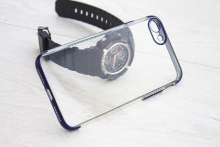 iPhone 7  iPhone 8 прозрачный качественный силикон FLOVEME. Киев. фото 1