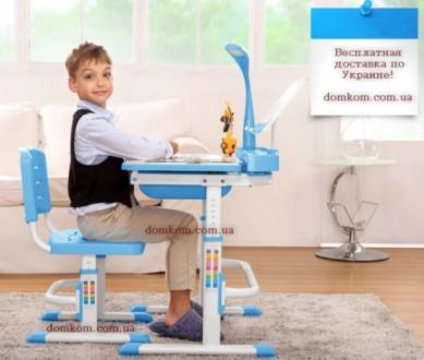 Комплект парта и стул для ребенка от 3-х лет Mealux Evo-kids Evo-17. Скидка. Киев. фото 1