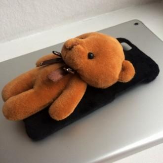 Чехол с мишкой для iPhone 6/6S – симпатичный чехол из пластика, можно использова. Днепр, Днепропетровская область. фото 4