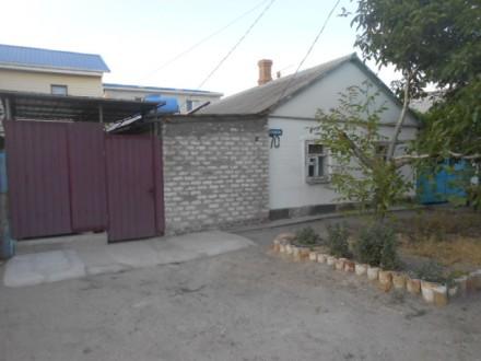 Сдам по-суточно отдельный   дом на берегу Азова в Бердянске Лиски. Бердянск. фото 1