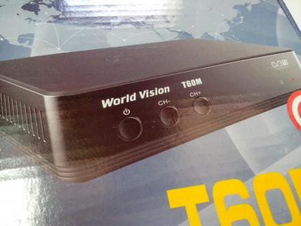 Тюнер/ресивер Т2 World vision T 60 М. Гаранития 1 год.. Купянск. фото 1